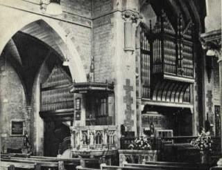 Interior of Holy Trinity Church