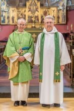 Archbishop Justin at Holy Trinity 2016 Image