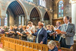 2015 Palm Sunday at Holy Trinity