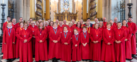 The Choir at Westminster Abbey August 2018