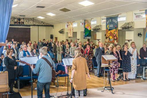 St. George's Church Benefice service 30th October 2016