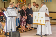 Commissioning of Heather and Fiona as ALMs at St. George's 2016